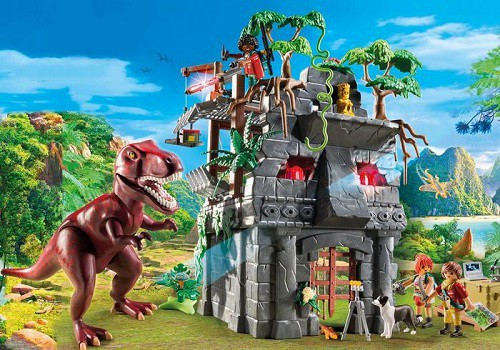 Playmobil – Hidden Temple with T-Rex