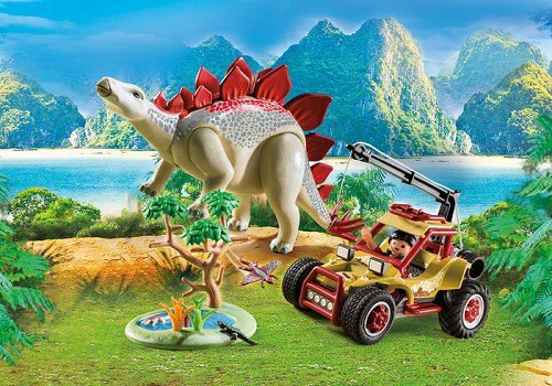 Playmobil – Vehicle With Stegosaurus