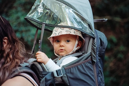 5 Tips to hiking with your new baby