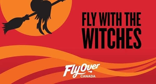 Halloween @ FlyOver Canada 2018