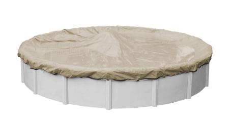 Pool Supplies Canada – Premium HD Tan Winter Cover