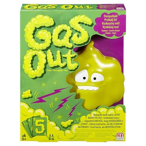 Gas Out – Mattel Games