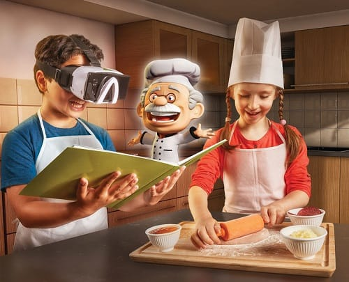 Professor Maxwell's 4D Chef Kit