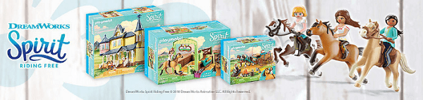 Playmobil – Spirit Riding Free