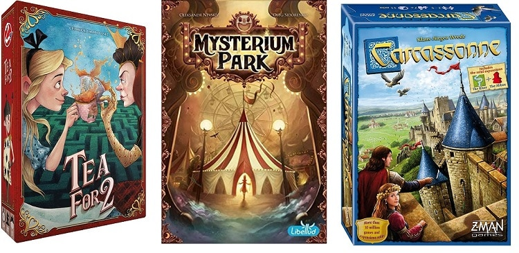 Asmodee Games to Spook and Entertain this Halloween