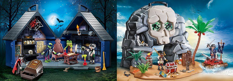 Create Your Own Spooky Story Line with Playmobil