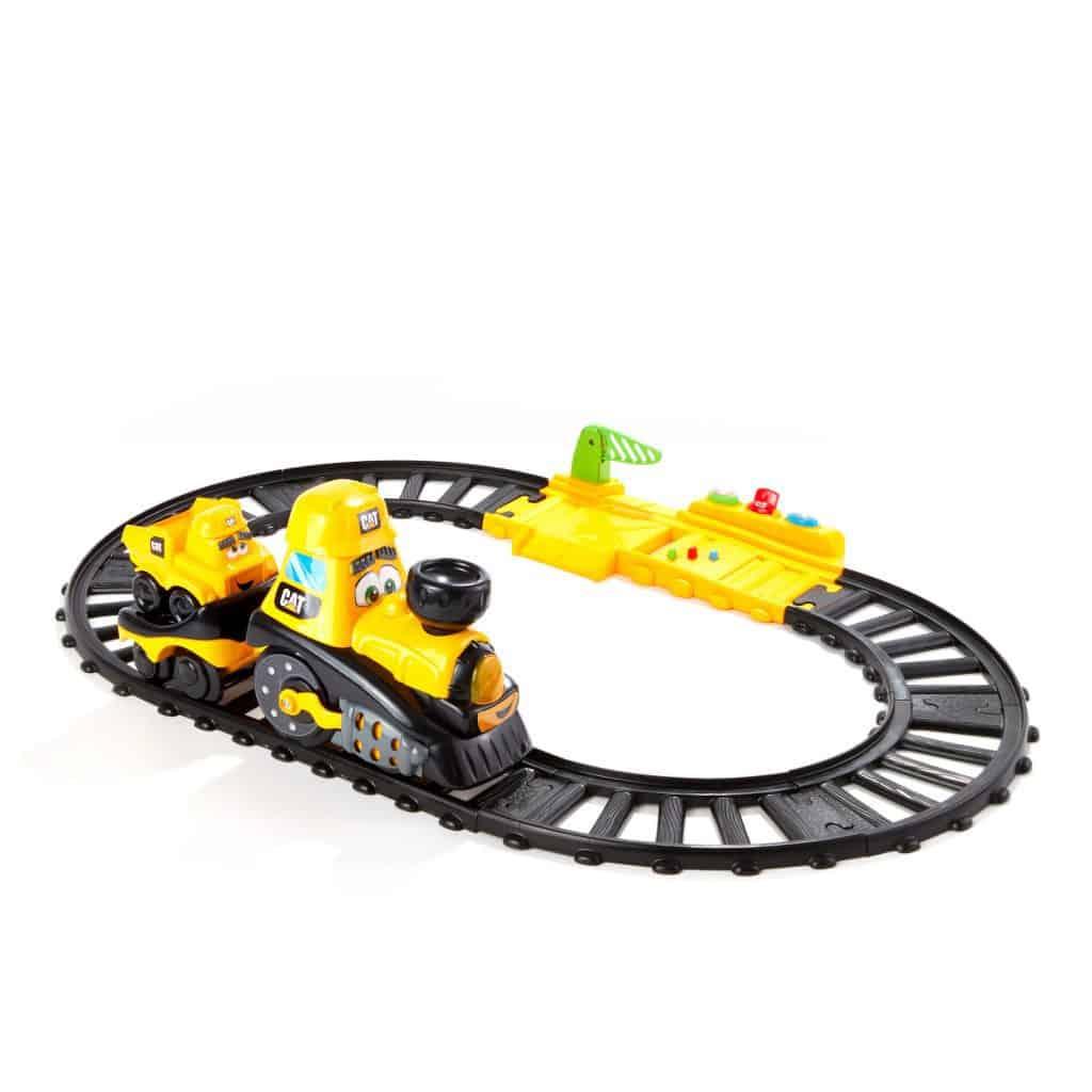 Cat® Junior Crew Power Tracks Friends Train Set