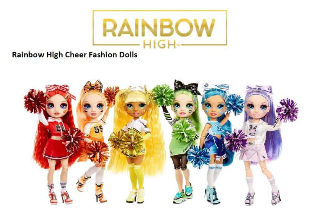 MGAE – Rainbow High Cheer Fashion Dolls