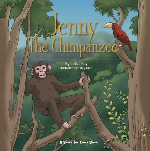A Bears for Cares Book – Jenny the Chimpanzee