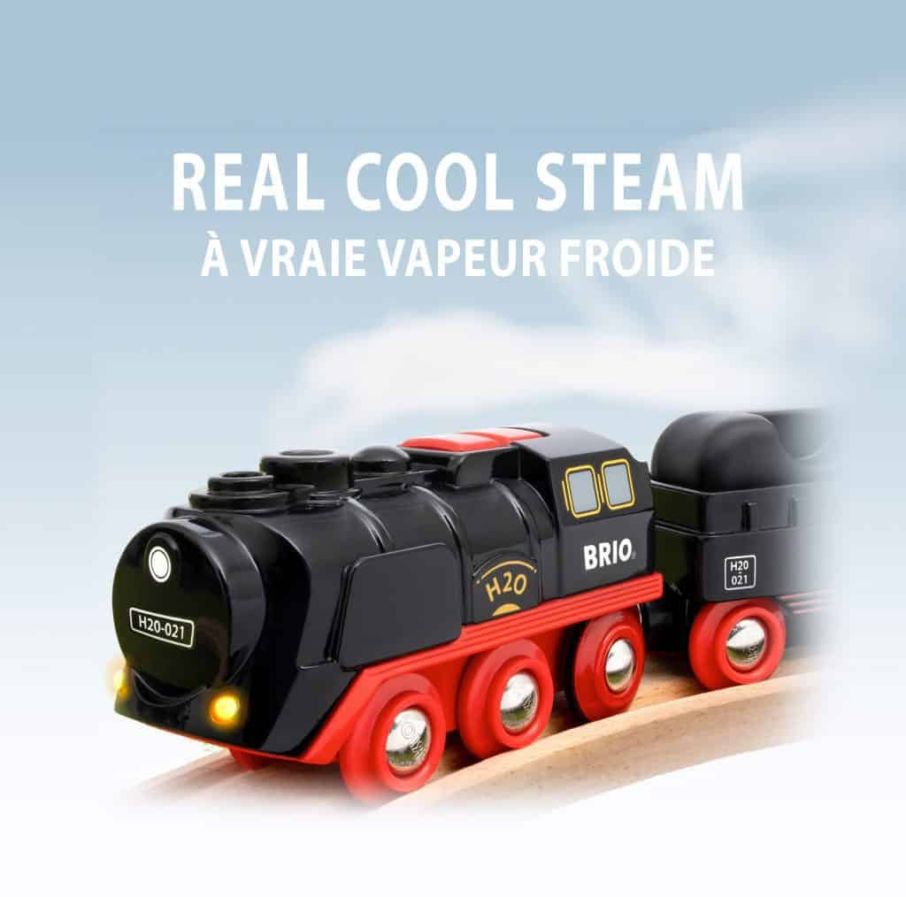 BRIO – Battery-Operated Steaming Train