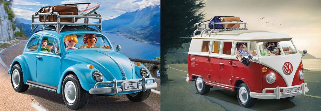 PLAYMOBIL brings back the Volkswagen Beetle and T1 Camping Bus