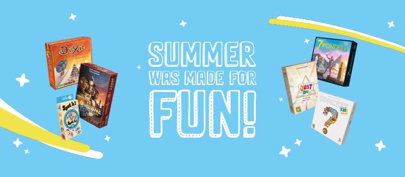 Summer Game Time Fun with Asmodee Canada
