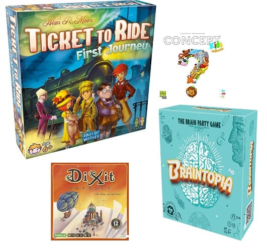 Back-to-School Board Games by Asmodee