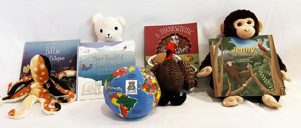 Bears for Cares Books and Toys Partners with Global Brand Hugg-A-Planet for National Wildlife Day September 4, 2021